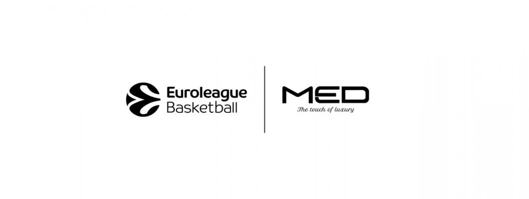 MED официален спонсор на EURO LEAGUE
